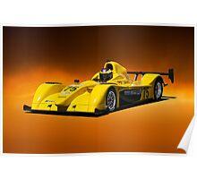 SCCA Racecar P2 Poster