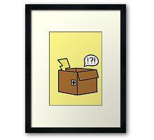 Pikachu Away! Framed Print