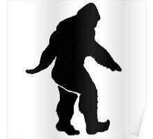 Bigfoot Silhouette  Poster