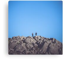 On the Top! Canvas Print
