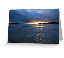 Glencolmcille Sunset Greeting Card