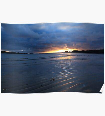 Glencolmcille Sunset Poster