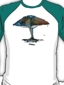 Colored tree in a tranquil breeze T-Shirt