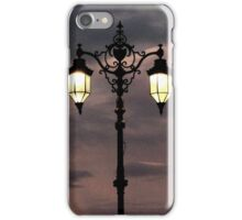 Seafront lamposts iPhone Case/Skin