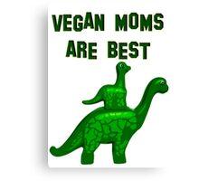 Vegan mum are best Canvas Print