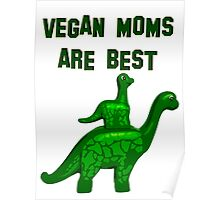 Vegan mum are best Poster