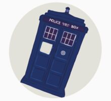 TARDIS Sticker by inflomora