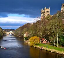 Durham City In Spring. by EJHPhotography