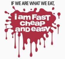 We are what we Eat by artpolitic