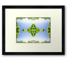 Mandala Tree Framed Print