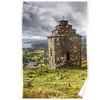 Inveraray Watchtower - Argyll Scotland Poster