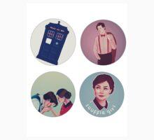 doctor who sticker sheet by inflomora
