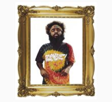 Tee-Shirt / Sticker 'ZOMBiE Juice in a Gold Frame III' by HenrigDesign