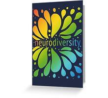 Neurodiversity Splash Greeting Card