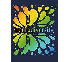 Neurodiversity Splash Photographic Print