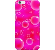 Pink Bubble Phone Case iPhone Case/Skin