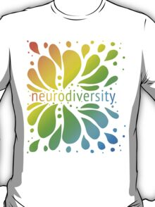 Neurodiversity Splash T-Shirt