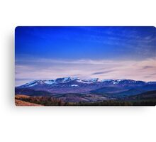 Blue Lochnagar Canvas Print