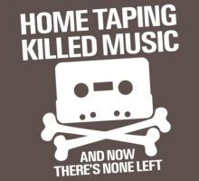 Home Taping Killed Music Kids Clothes