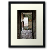 Renovations are Overrated! Framed Print