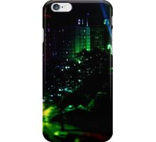 Hot Rainbow in the City  iPhone Case/Skin
