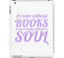 A Room Without Books iPad Case/Skin