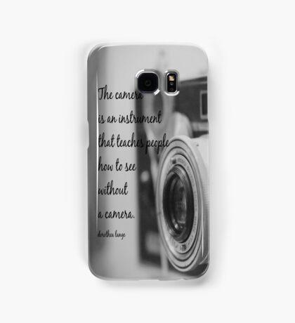 Dorothea Lange Camera Samsung Galaxy Case/Skin