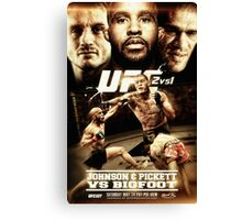 Fantasy Fight Poster Canvas Print