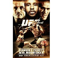 Fantasy Fight Poster Photographic Print