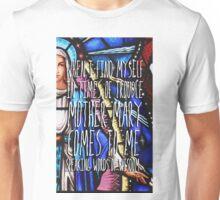 Let it Be - The Beatles - Lyric Poster Unisex T-Shirt