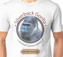 Silverback Gorilla Animal Conservation Unisex T-Shirt