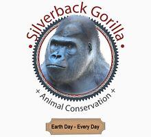 Silverback Gorilla Animal Conservation Unisex T-Shirt