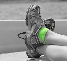 green socks by rosaliemcm