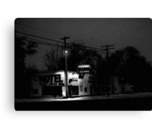 Xmas at the Shady Grove Canvas Print