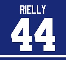 Toronto Maple Leafs Morgan Rielly Jersey Back Phone Case by Russ Jericho