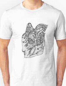 Hand Drawn Spiritual Warrior Tees T-Shirt