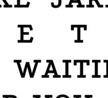 RUN - Jared Leto Sticker