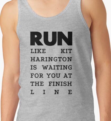 RUN - Kit Harington Tank Top