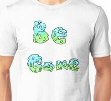 Be Gone, Blue and Green Unisex T-Shirt
