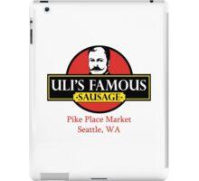 Uli's Famous Sausage, Seattle, Pike Place Market iPad Case/Skin