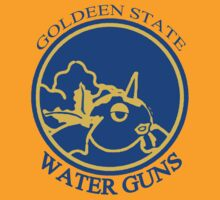 Goldeen State Waterguns (Golden State Warriors) by Malkin