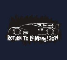 Porsche 919 Le Mans Racer Kids Tee