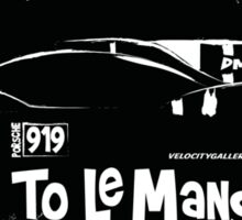 Porsche 919 Le Mans Racer Sticker