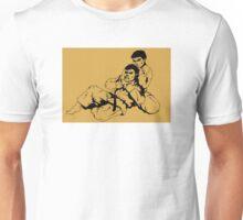 Ju Jitsu Retro Ink Drawing Martial Art Unisex T-Shirt