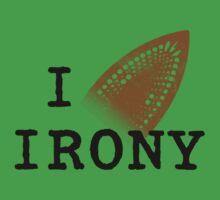 I iron irony One Piece - Short Sleeve