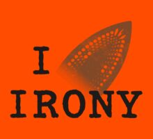 I iron irony Kids Tee