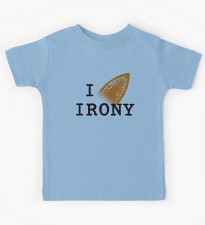 I iron irony Kids Tee