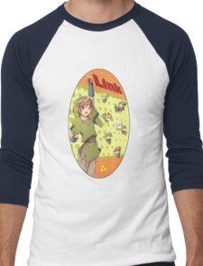 Legend of Zelda: Link time Men's Baseball ¾ T-Shirt