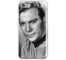 William Shatner by John Springfield iPhone Case/Skin
