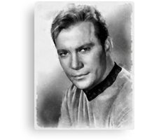 William Shatner by John Springfield Canvas Print
